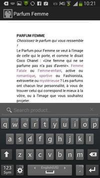 Parfum Femme apk screenshot