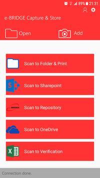 e-BRIDGE Capture & Store screenshot 2