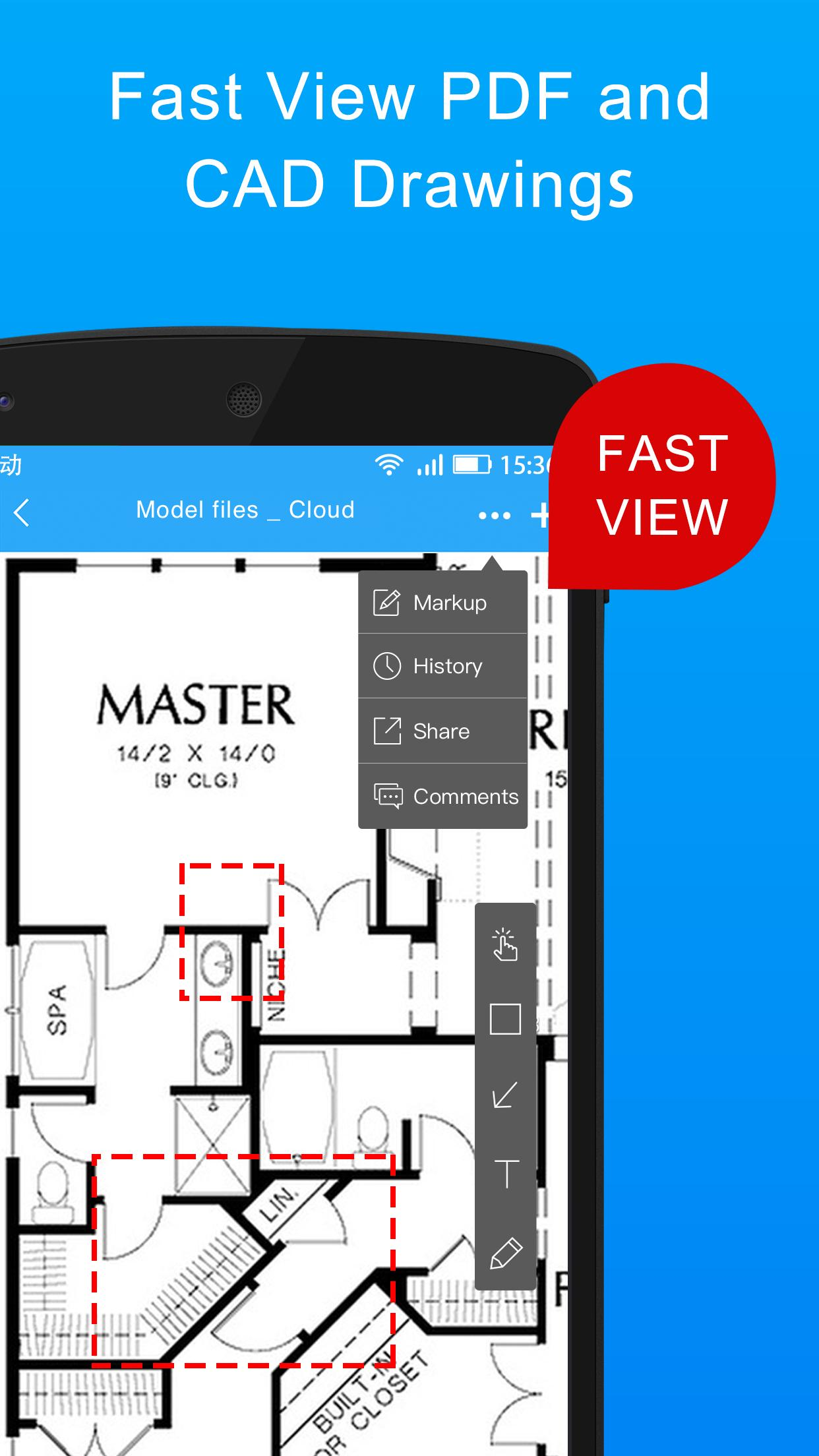 BIM Work-CAD Blueprint and BIM Viewer and Editor for Android