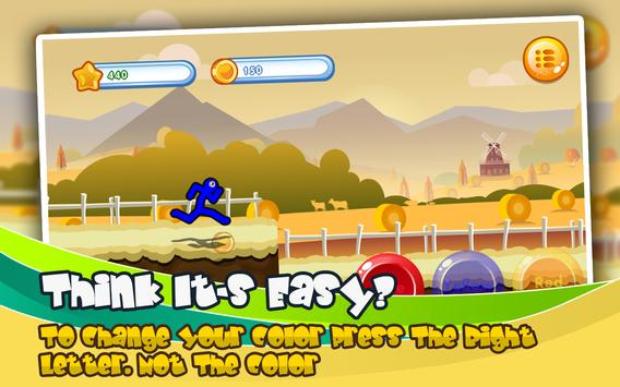 Epic Stickman Legends Runner: Free Sports Game captura de pantalla 1
