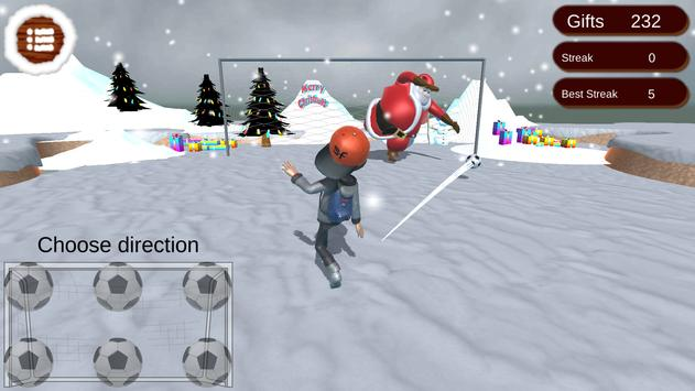 Santa Goalkeeper apk screenshot