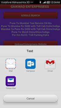 Pune Cab screenshot 4
