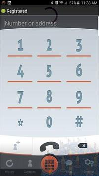 Voipx International Dialer poster