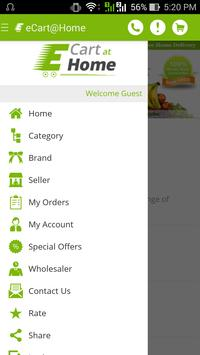 E Cart At Home apk screenshot