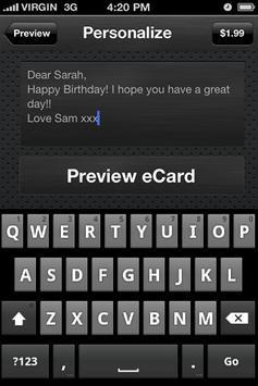 Ecards - Birthday eCards screenshot 4