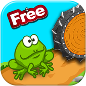 Tap Frog jumping adventure icon