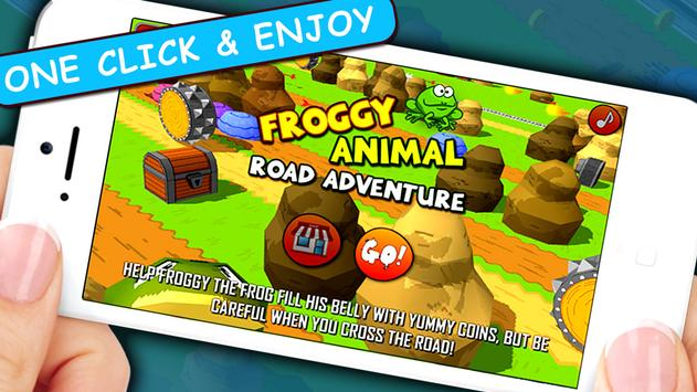 Tap Frog jumping adventure apk screenshot