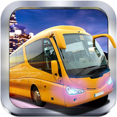 City Coach Bus Simulator 17 - Tourist Euro Trip 3D icon