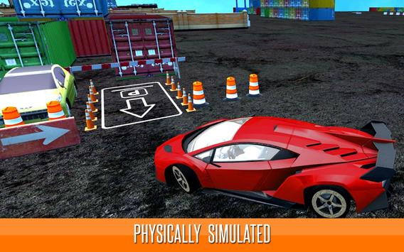 Real Sports Car Parking 3D - Ultimate Driving 2017 poster