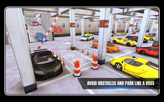 Sports Car Parking 3D & Luxury Car Driving Test apk screenshot