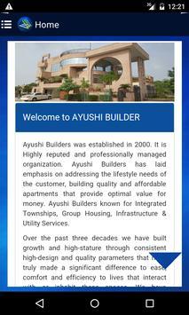 Ayushi Builder & Developers apk screenshot