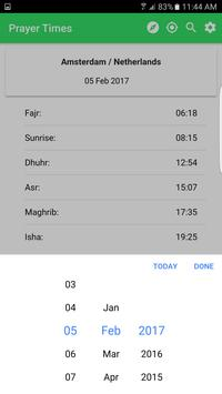 Prayer Times & Events apk screenshot