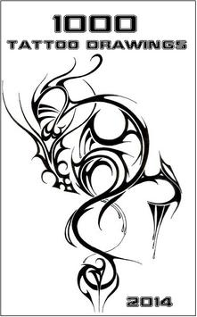 1000 TATTOO DRAWINGS poster
