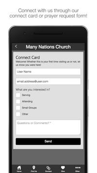 Many Nations Church poster