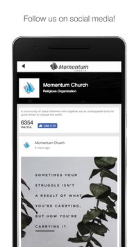 Momentum Church | Gulf Breeze apk screenshot