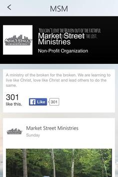 Market Street Ministries poster