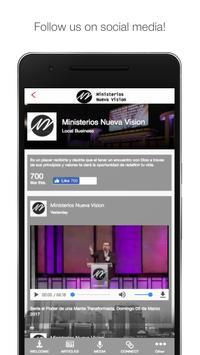 Ministerios Nueva Vision apk screenshot