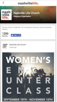Nashville Life Church poster