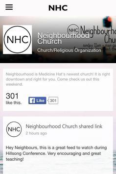 Neighbourhood Church MH poster