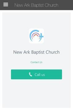 New Ark Baptist Church poster
