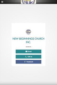New Beginnings Inc. screenshot 1