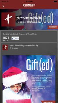 New Community Bible Fellowship apk screenshot
