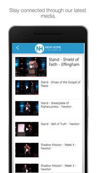 New Hope - Effingham apk screenshot