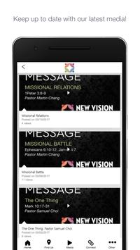 New Vision Covenant Church poster