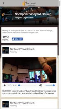 Northpoint Vineyard - Granger apk screenshot