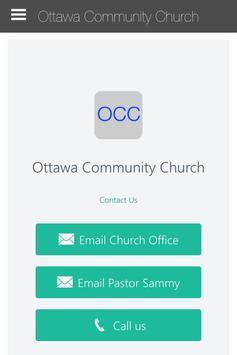 Ottawa Community Church poster