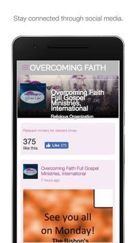 Overcoming Faith Church - VA screenshot 1
