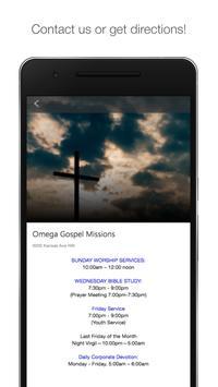 Omega Gospel DC screenshot 1