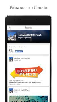 Osterville Baptist Church apk screenshot