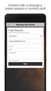 Abundant Life Church GA poster