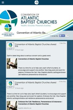 Convention of Atlantic Baptist screenshot 1
