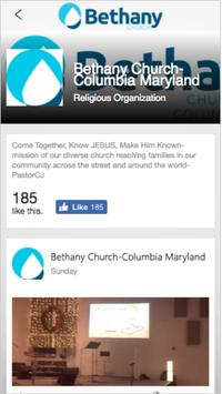 Bethany Church EC & COL apk screenshot