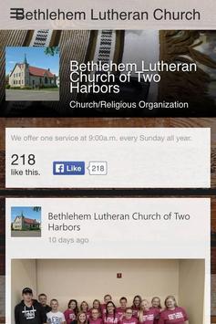 Bethlehem Lutheran Church poster