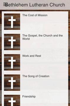 Bethlehem Lutheran Church apk screenshot
