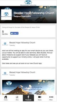 BlessedHope Fellowship screenshot 1