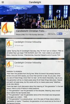 Candlelight Fellowship apk screenshot
