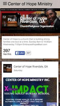 Center of Hope Ministry apk screenshot