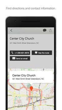 Center City Church screenshot 1