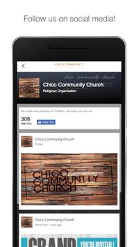 Chico Community Church apk screenshot
