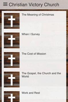Christian victory church apk screenshot
