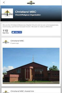 CHRISTLANDMBC screenshot 1