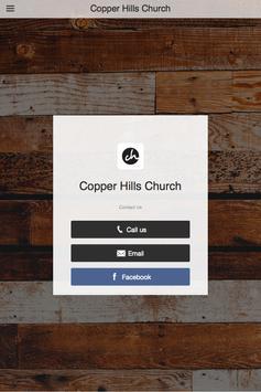 Copper Hills Church apk screenshot