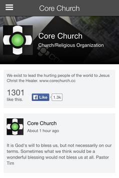Core Church apk screenshot