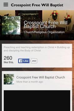 CrosspointFWB poster