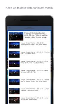 Evangel Christian Center poster