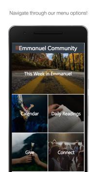 Emmanuel Community poster